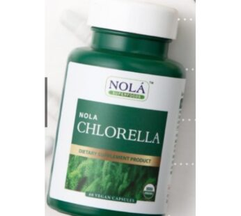 Supplement : Nola Superfoods Chlorella 60 VEGAN Capsules : สาหร่าย คลอเรลล่า