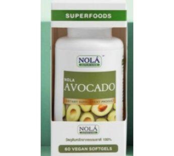 Supplement : Nola Superfoods NOLA Avocado 60 VEGAN Softgels น้ำมันอะโวคาโด สกัดเย็น