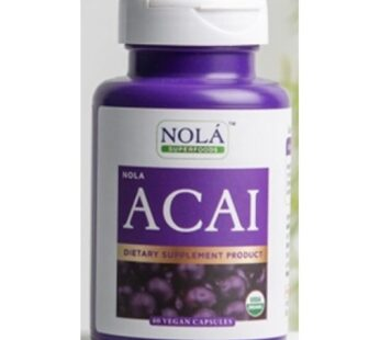 Supplement : Nola Superfoods Acai Berry 30 VEGAN Capsules : อาซาอิ เบอร์รี่
