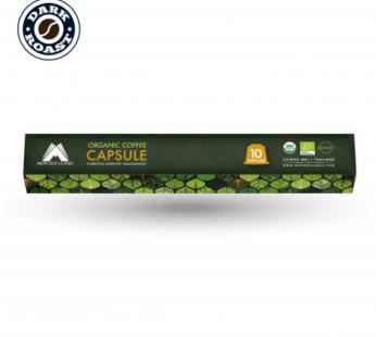Coffee : Organic Arabica coffee Capsule Dark Roast 60g by Mon Doi Luang