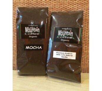 Coffee Ground, Flavoured, Laos Mountain, 100g (Flavour Mocha)
