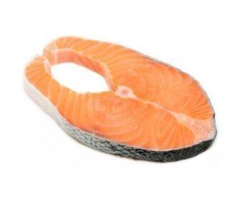 Wild Caught Alaskan Sockeye Salmon Steak 1 pcs (120-150g) by Alaska King brand