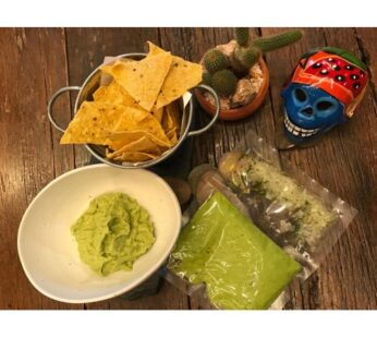 Guacamole, Freshly Made (1 avocado)