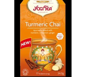 Tea: Yogi Tea, Turmeric Chai, Organic, 30.6g, 17 teabags
