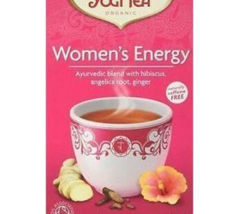 Tea: Yogi Tea, Women's Energy, Organic, 30.6g, 17 teabags