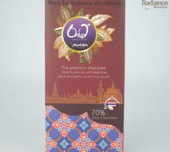 Chocolate : 70% Dark Chocolate, Thai premium chocolate