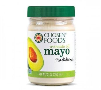 Chosen Foods Avocado Oil Mayo, 355ml