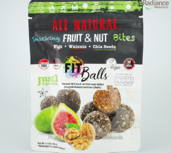 Fit ball ,Figs + Walnuts + Chia Seeds, All natural fruit&nut