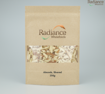 Almonds (with peel), Slivered, 250g