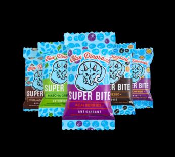 Paleo Super Bites, Blue Dinosaur, GF 45g (5 flavours)