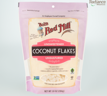 Coconut Flakes, Unsweetened, Unsulfured, Bob's Red Mill, 284g