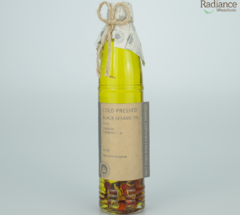 Cold Pressed black sesame oil with Turmeric90 ml