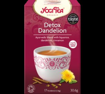 Tea: Yogi Tea, Detox Dandelion, Organic, 30.6g, 17 teabags