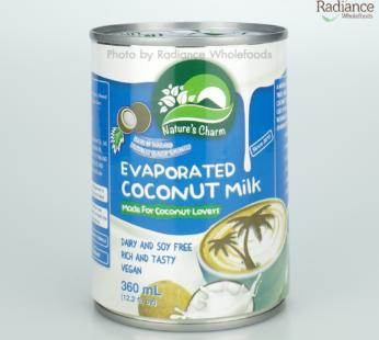 Evaporated Coconut Milk,Nature's Charm 360ml