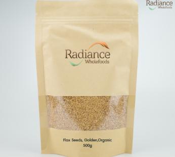 Organic Flax Seeds, Golden, 500gm