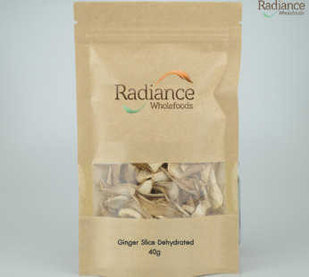 Ginger Slice Dehydrated, 40g