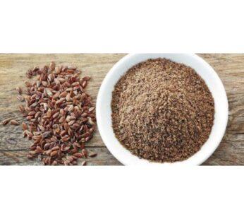 Organic Flax Seeds, Brown, Ground, 500g