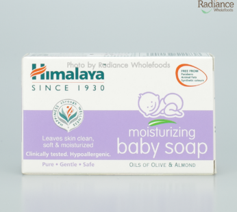Soap : Moisturizing baby soap 75g,Himalaya
