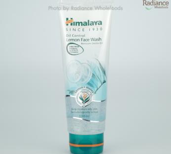 Facial : Oil Control Lemon Face Wash 100ml, Himalaya Brand