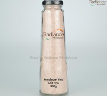 Himalayan Salt ,Fine grain 300 gram (Glass bottle)
