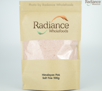 Himalayan Salt, Fine Grain 500 gram (Bulk pack for refill )