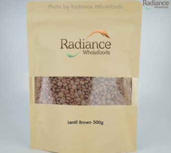 Organic Lentils, Brown, 500gm