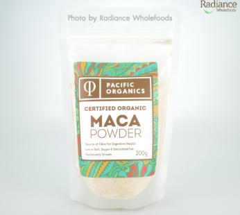 Maca Powder, Organic, Pacific Organics, Australia Imported