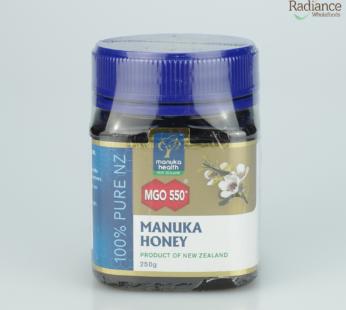 Manuka Honey MGO 550+, 250g