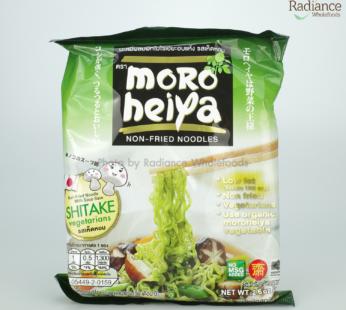 Shitake Vegetarians, Non-Fried Noodle, Moro Heiya 75g