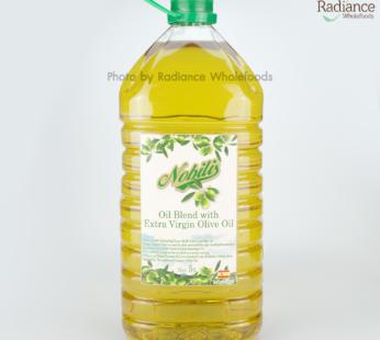 Oil Blend with Extra Virgin Olive Oil, Nobilis 5L