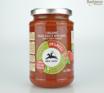 Organic Pasta sauce with basil 350g, alce nero