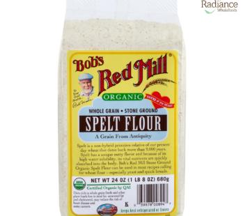 Organic Spelt Flour, Bob's Red Mill, Product of USA