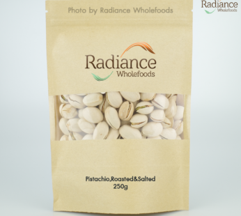 Pistachios, Roasted & Salted, 250g