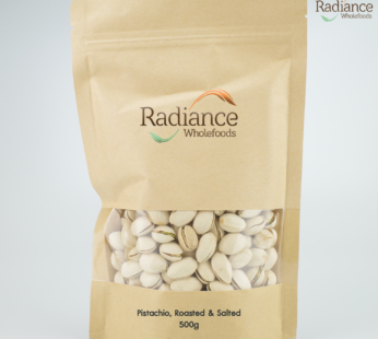 Pistachios, Roasted & Salted, 500g
