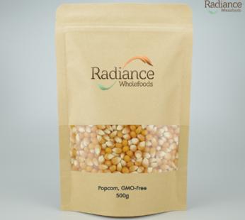 Popcorn, GMO-Free, 500g