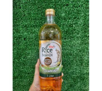 Oil : King Rice Bran Oil ( Oryzanol 12000 ppm )
