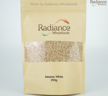 Organic Sesame Seeds, White, 250g
