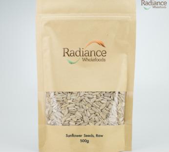 Organic Sunflower Seeds, Raw, 500g