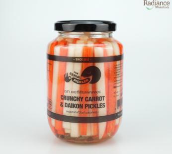 Crunchy carrot & Daikon pickles 460g ,The Serial Pickler