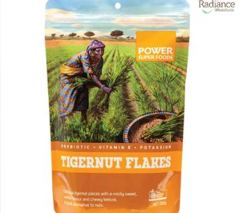 Tigernut flakes, Power Super Foods, Australia certified organic