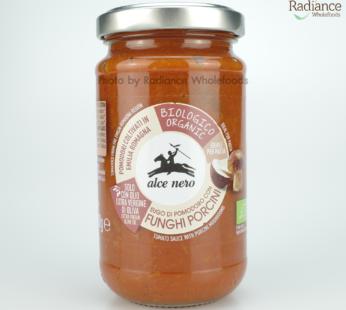 Tomato sauce with porcini mushrooms, alce nero 200g