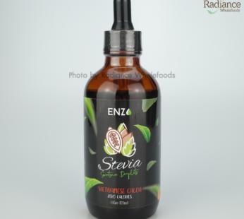 Stevia Sweetener drop, (Vietnamese Cacoa), 120ml ENZO