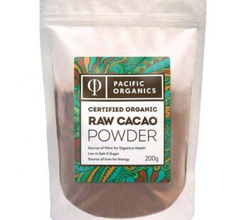 Cacao Powder, Organic, Pacific Organics, Australia Imported