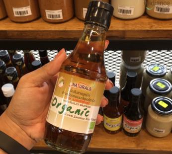 Naturally brewed organic brown jasmine rice vinegar, Naturals cf 200ml.