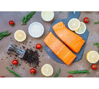 Wild Caught Alaskan sockeye salmon 120g ( fillet ) by Alaska King brand