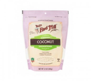 Bob's Red Mill Shredded Coconut Unsweetened 340g